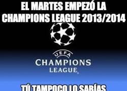 Enlace a El martes empezó la Champions League 2013/2014