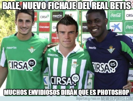 160576 - Bale, nuevo fichaje del Real Betis