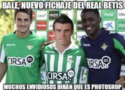 Enlace a Bale, nuevo fichaje del Real Betis
