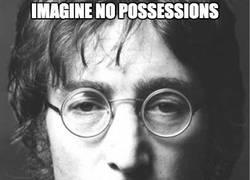 Enlace a Imagine no possessions