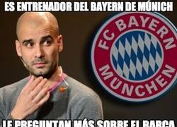 Enlace a Es entrenador del Bayern de Múnich
