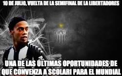 Enlace a 10 de julio, vuelta de la semifinal de la Libertadores