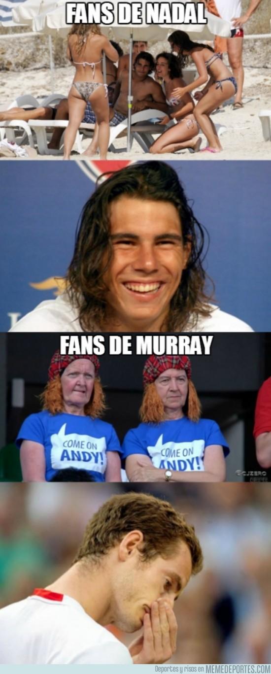 161063 - Diferencias entre Nadal y Murray