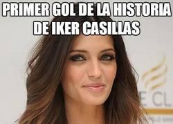 Enlace a Primer gol de la historia de Iker Casillas