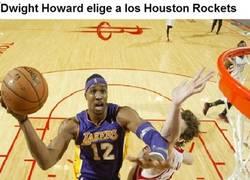 Enlace a Dwight Howard elige a los Houston Rockets