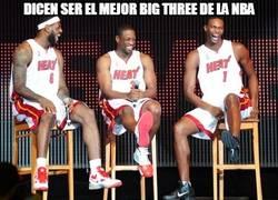 Enlace a Dicen ser el mejor big three de la NBA