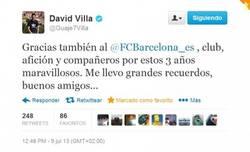 Enlace a David Villa se va como lo que es, un grande. Se te echará de menos #MuchaSuerteGuaje