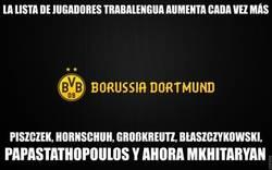 Enlace a Creo que lo hacéis a propósito, Borussia Dortmund
