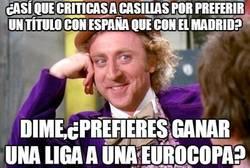 Enlace a ¿Así que criticas a Casillas por preferir un título con España que con el Madrid?