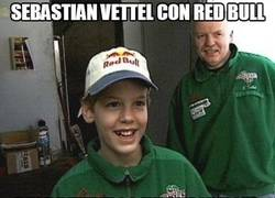 Enlace a Sebastian Vettel con Red Bull