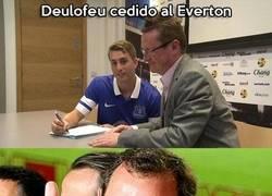 Enlace a Deulofeu cedido al Everton