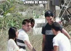 Enlace a ¿Novia de Messi?