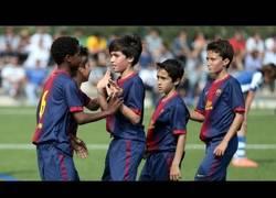 Enlace a VÍDEO: Así suben los del Barça