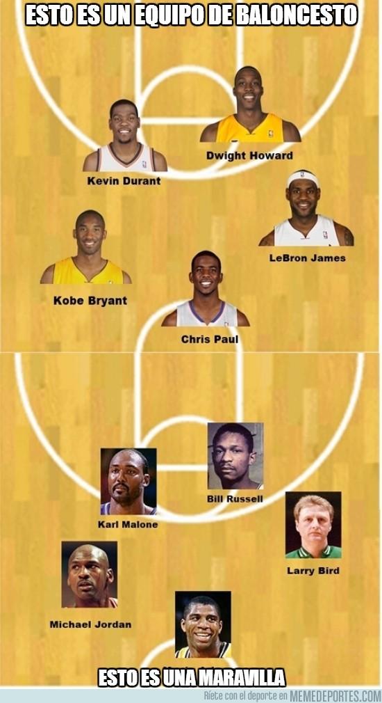 163343 - Esto es un equipo de baloncesto