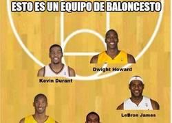 Enlace a Esto es un equipo de baloncesto