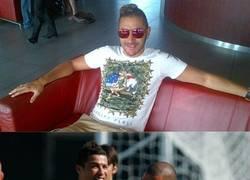 Enlace a El ridículo nuevo peinado de Benzema