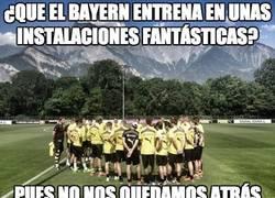 Enlace a ¿Que el Bayern entrena en unas instalaciones fantásticas?
