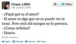 Enlace a ¿Qué es el amor? por @Sr_Coque_LQSA