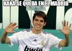 Enlace a Kaká se queda en el Madrid