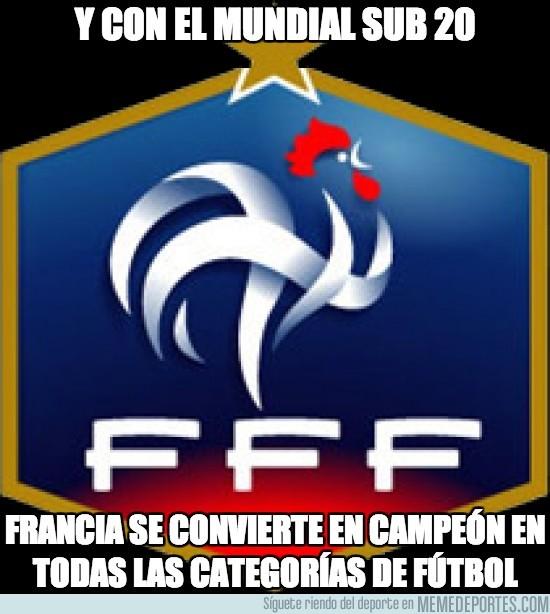 164208 - Francia sub20 completa el ciclo