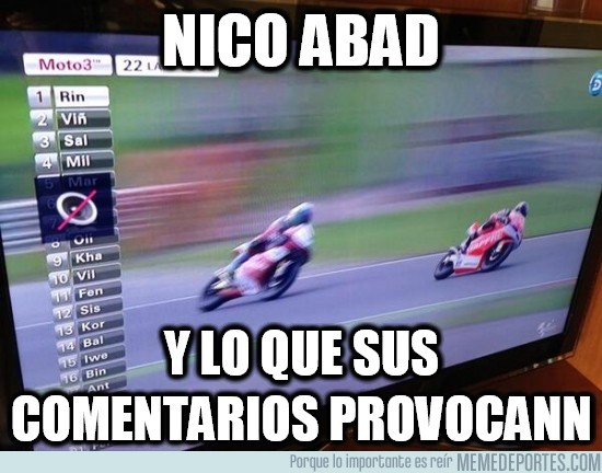 164356 - Nico Abad, ese gran comentarista