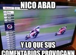 Enlace a Nico Abad, ese gran comentarista
