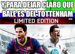 Enlace a Y para dejar claro que Bale es del Tottenham