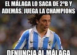 Enlace a El Málaga lo saca de 2ªB y además, juega la champions
