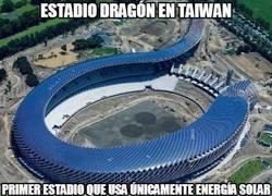 Enlace a Estadio dragón en Taiwan