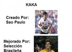 Enlace a La Evolución de Kaká