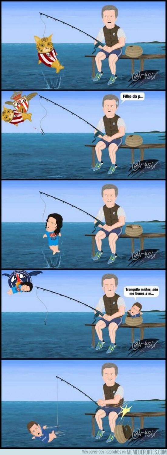 165313 - Mourinho pescando por @r4six