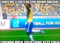 Enlace a Sabes que el FIFA13 no tiene buenos gráficos
