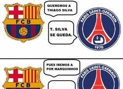Enlace a Los jeques están picados con el Barça