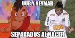 Enlace a Uub y neymar