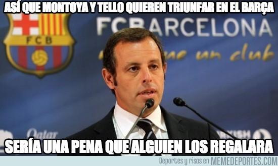 166213 - Así que Montoya y Tello quieren triunfar en el Barça
