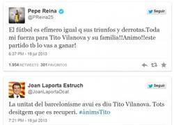 Enlace a Deportistas y famosos se vuelcan con Tito en las redes sociales #ÀnimsTito