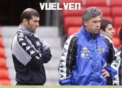 Enlace a Zidane y Ancelotti