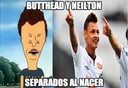 Enlace a Butthead y Neilton