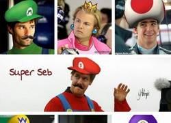 Enlace a Vimos a Seb vestido de Super Mario. Éste es el resto del plantel