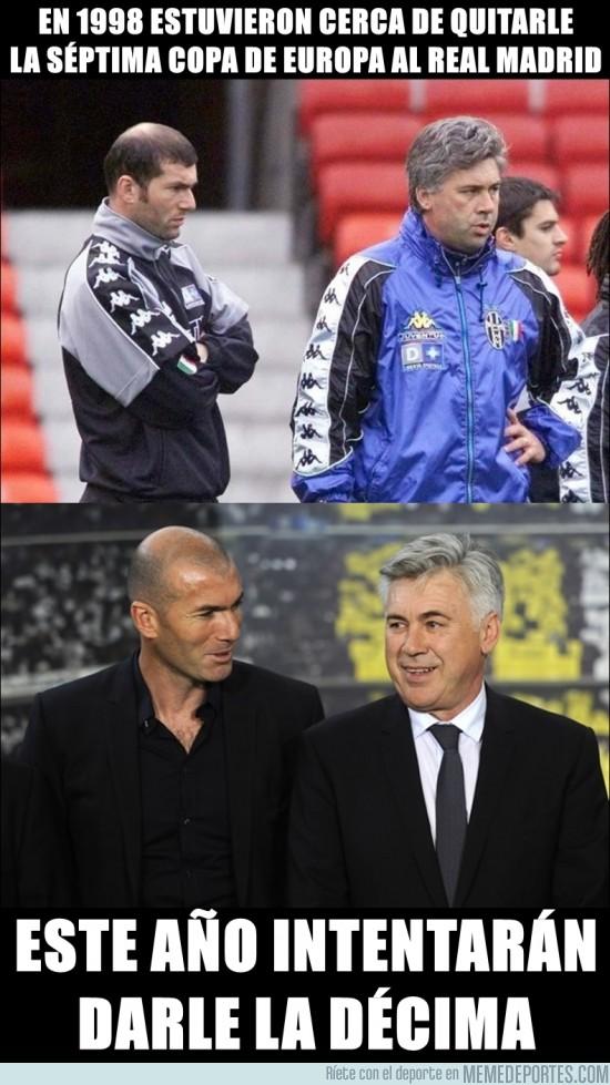 167014 - Ancelotti y Zidane, cambio total de planes en 15 años