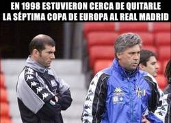 Enlace a Ancelotti y Zidane, cambio total de planes en 15 años