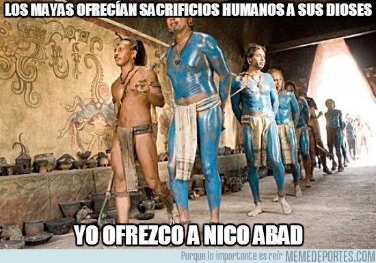 167108 - Los mayas ofrecían sacrificios humanos a sus dioses