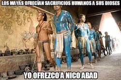 Enlace a Los mayas ofrecían sacrificios humanos a sus dioses
