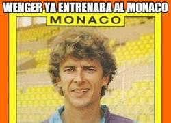 Enlace a Wenger ya entrenaba al Mónaco