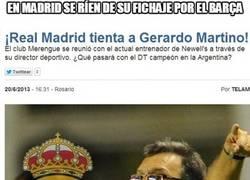 Enlace a En Madrid se ríen de su fichaje por el Barça