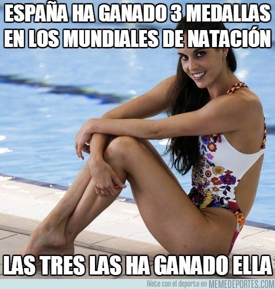 167469 - España ha ganado 3 medallas en los mundiales de natación