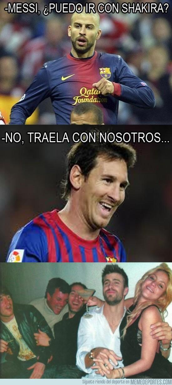167661 - Messi, mandando una vez más