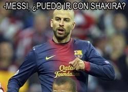 Enlace a Messi, mandando una vez más