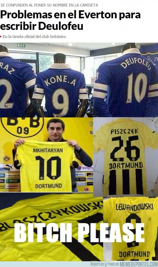 167777 - Pues menos mal que los del Everton no fichan como el Borussia