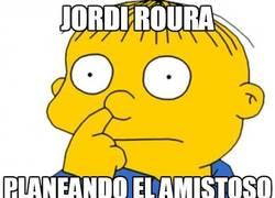 Enlace a Jordi Roura, en directo